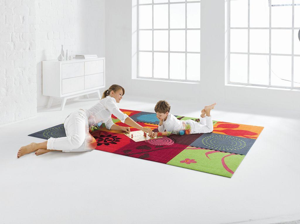 randlose Matten in Teppichgröße