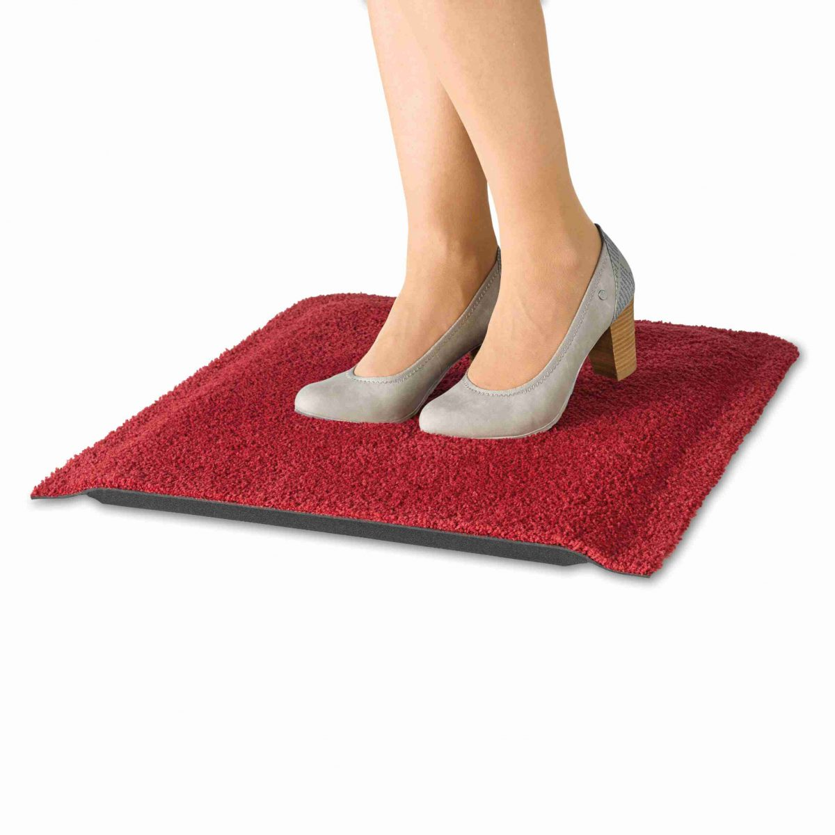 Stand-On-Monocolour_Regal-Red_SCHNITT_FUESSE_High-heels_55x78cm_02_4032445083405_GIM134_FREI_Verlauf_DRAUFSICHT_kl